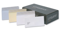 Conqueror Envelopes Wallet Peel and Seal Laid White DL.